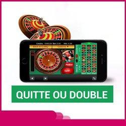 Quitte ou double un jeu en ligne risqué